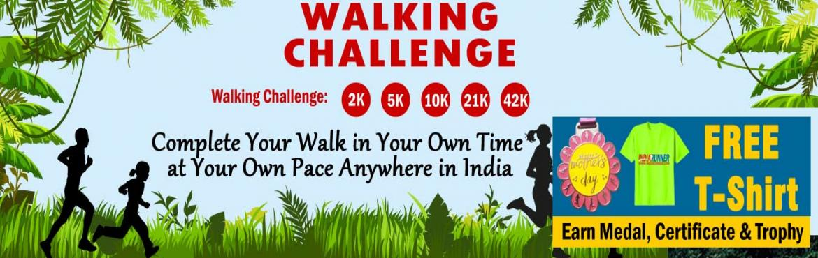 <h2>June Walk Challenge 2019 and GET Free T-shirt </h2>