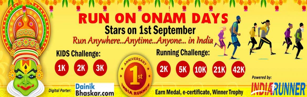 <h2>Run on Onam Day Starts on Ist September 2019 </h2>
