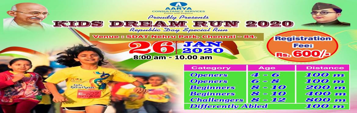 <h2>Kids Dream Run 2020</h2>