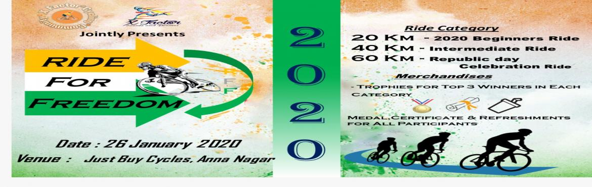 <h2>Ride For Freedom 2020</h2>