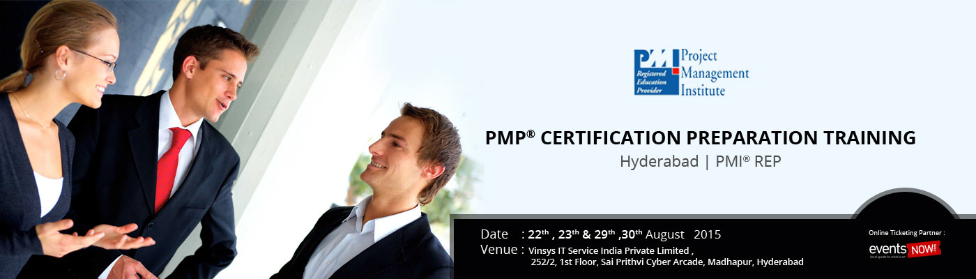 Pmp Certification Preparation Training Hyderabad Pmi Rep By