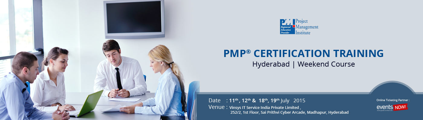 Pmp Certification Training Hyderabad Weekend Course By Vinsys On
