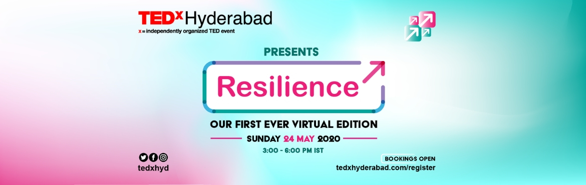 <h2>TEDxHyderabad 2020 - Resilience | Virtual Edition</h2>