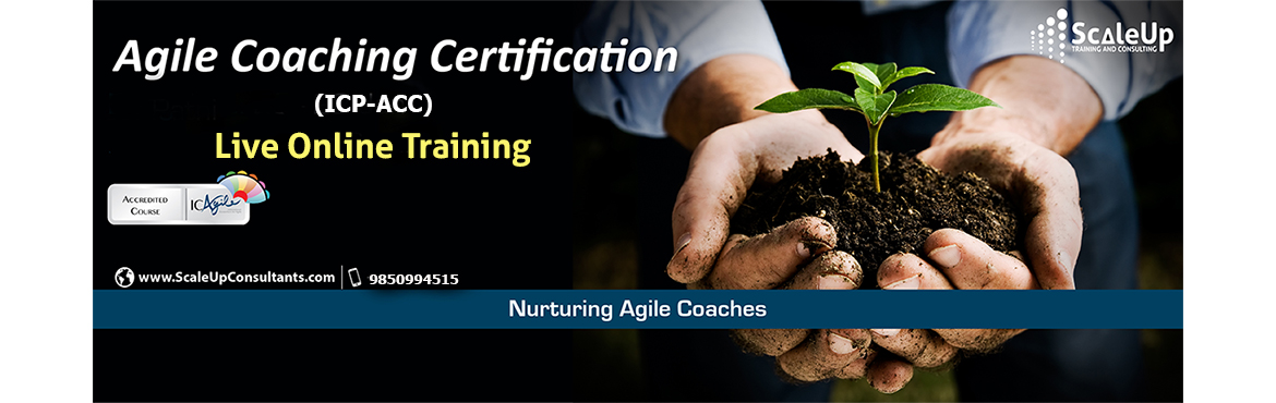 <h2>Agile Coach Certification, Live Online Training - Morning - May 2020</h2>