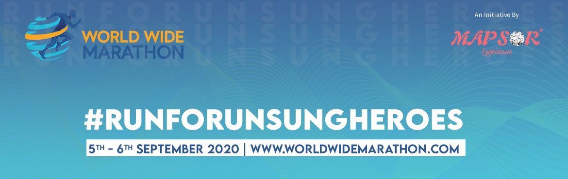 <h2>World Wide Marathon - WWMRUNFORUNSUNGHEROS</h2>