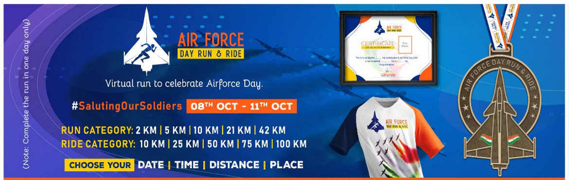 <h2>Air Force Day Run and Ride</h2>