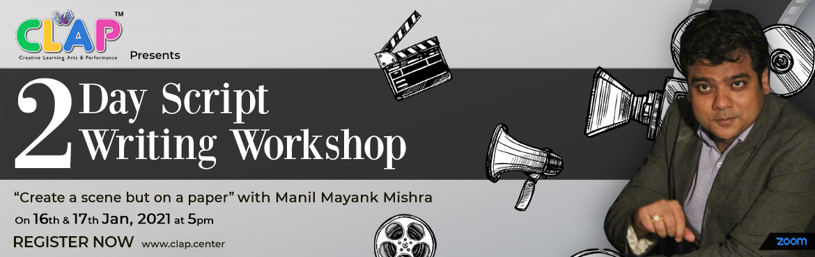 <h2>Create a scene but on a paper Two days Script writing workshop </h2>