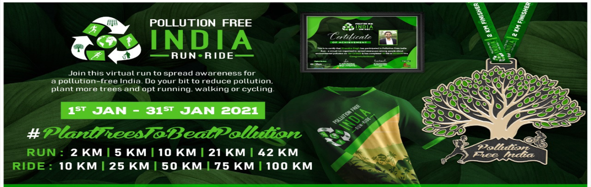 <h2>Pollution Free India Run - Ride</h2>