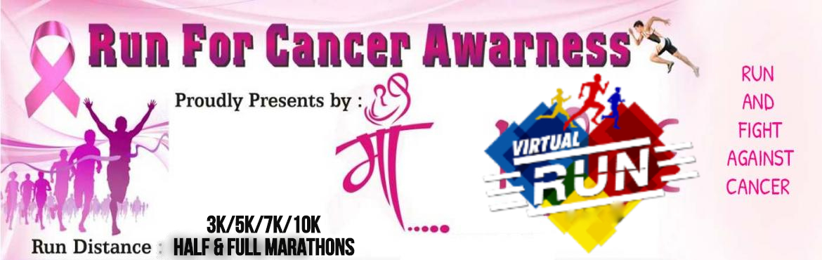 <h2>Run for Cancer awareness : Virtual Edition</h2>