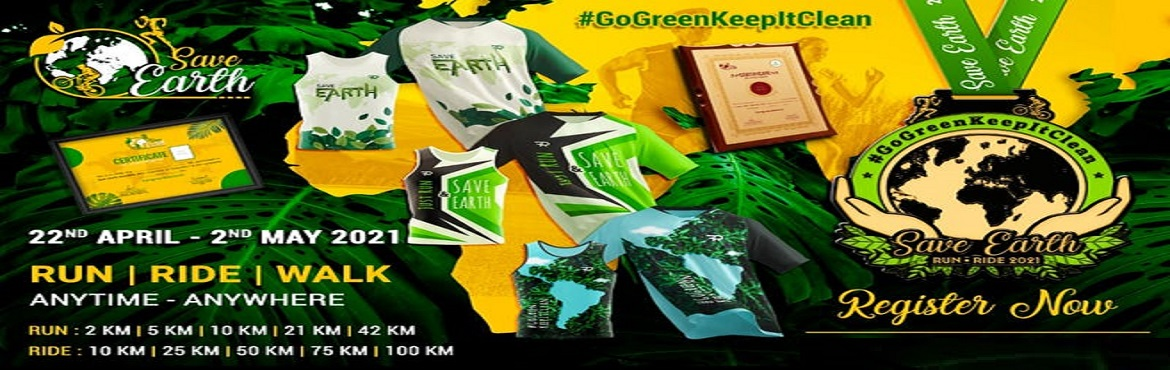 <h2>Save Earth Run - Ride 2021</h2>
